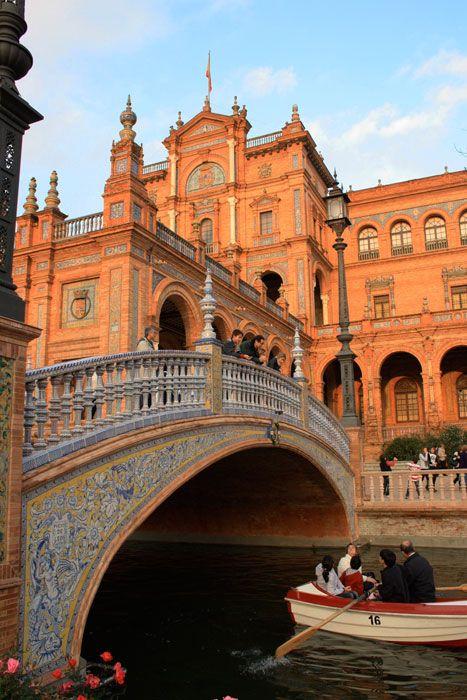 Praça da Espanha - Sevilha - Espanha