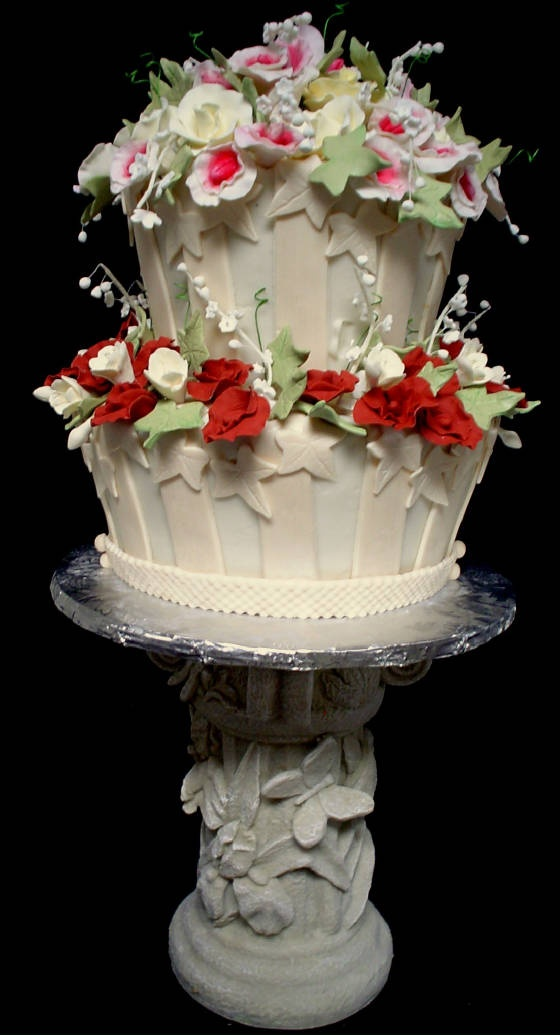 .Gardens Cake, Pretty Cake, Beautful Cake, Fancy Cake, Cake Decor, Amazing Cake, Beautiful Cake, Eating Cake, Wedding Cake