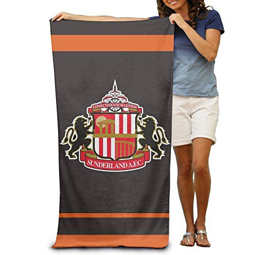 Sunderland Association Football Club Adults Bath Towels 80x130 Inches * Details can be found by clicking on the image.