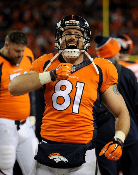 NFL Jersey's Men's Denver Broncos Max Garcia Pro Line Orange Player Jersey