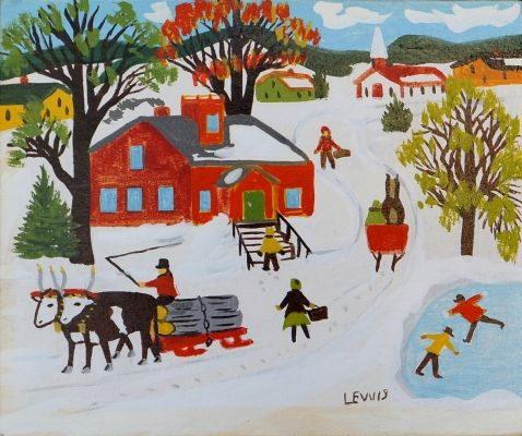 Previously Sold Artwork by Maud Lewis at Mayberry Fine Art