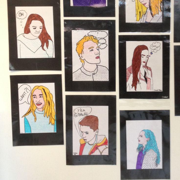 Popkunst og Roy Lichtenstein er altid en succes at arbejde med. De store elever på kreativ valghold har arbejde med Roy Lichtenstein og...