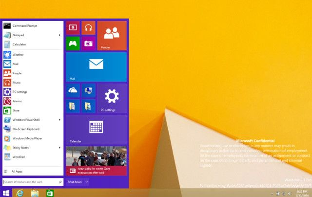 Leaked Windows Build Offers A Look At The Start Menu http://www.ubergizmo.com/2014/07/leaked-windows-build-offers-a-look-at-the-start-menu/