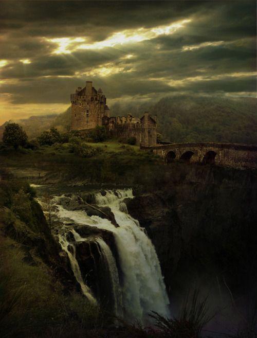 : Waterfalls, Dream, Beautiful, Castle Scotland, Castles, Eilean Donan, Place, Fairytale