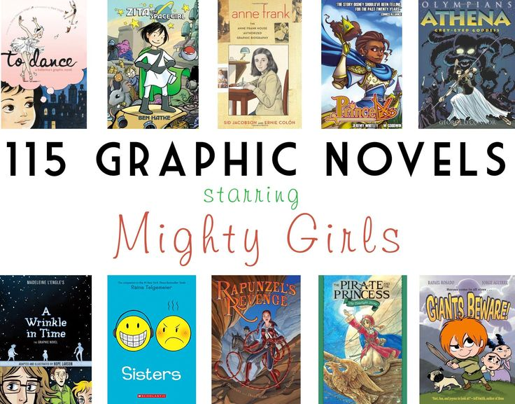 Mighty Girl Graphic Novels