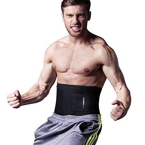 21c1af0201 Waist Trimmer Fitness ab Slimmer Belt Weight Loss Belly Fat Burner for Men  and Women,