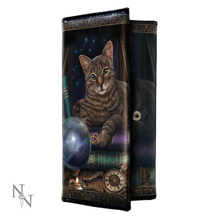 Nemesis Now Fortune Teller - Kat met glazen bol portemonnee Multicolou