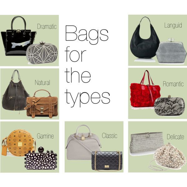 """""""Bags for the types"""" by skugge on Polyvore"""