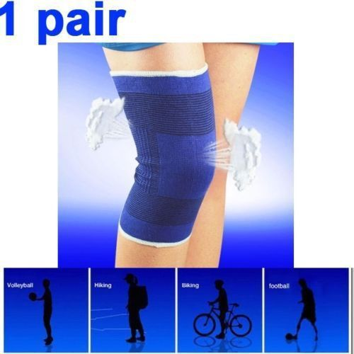 Adult Men & Women's Compression Elastic Calf Knee Support Protector Tendon Training Sleeve Brace Patella Guard Injury Gym Sports