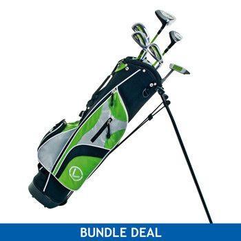 Longridge Challenger Cadet Junior Golf Package With Stand Bag   Junior Large Glove (12  Years)