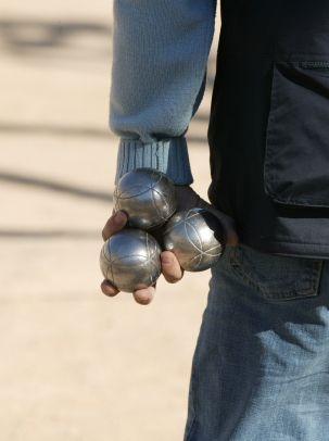 boules de petanque