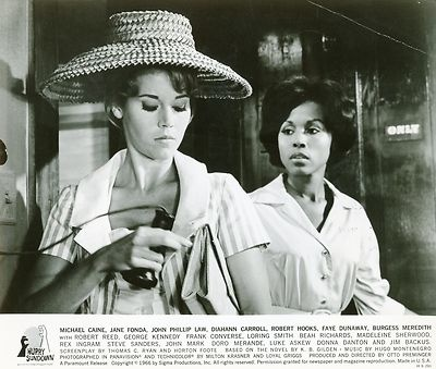 DIAHANN CARROLL JANE FONDA HURRY SUNDOWN 1967