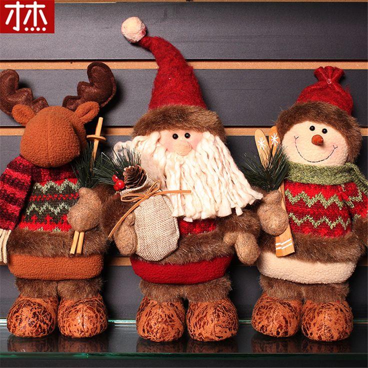 Cheap Decoraciones de navidad Reno Artificial Muñeca de Franela Adornos Regalos de Navidad Juguetes de Navidad Decoraciones para el Hogar Navidad, Compro Calidad   directamente de los surtidores de China: Decoraciones de navidad Reno Artificial Muñeca de Franela Adornos Regalos de Navidad Juguetes de Navidad Decoraciones para el Hogar Navidad