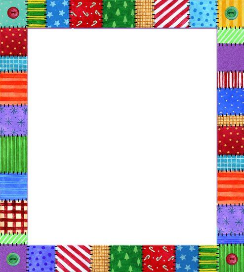 Colorful sampler border                                                                                                                                                     Más