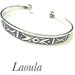 Bracelet ethnique, bijou argent, Mihotepit 232684 d'esprit oriental