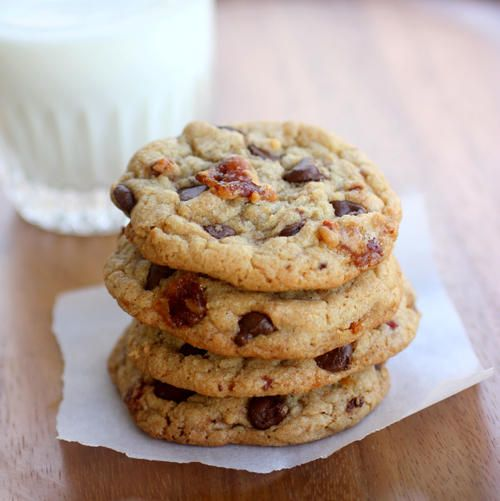 Chocolate Chip Cookie Recipe with Bacon