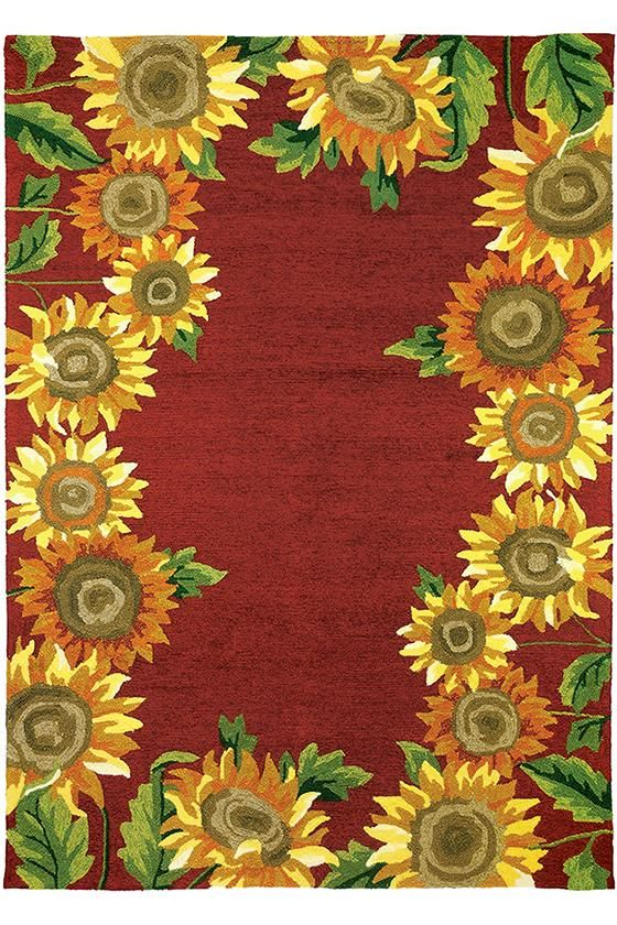 Maggie Area Rug - Outdoor Rugs -  Floral Rugs -  Hand-hooked Rugs -  Transitional Rugs -  Synthetic Rugs | HomeDecorators.com