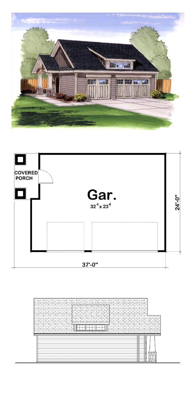 28 best 3 car garage plans images on pinterest 3 car for 5 car garage plans