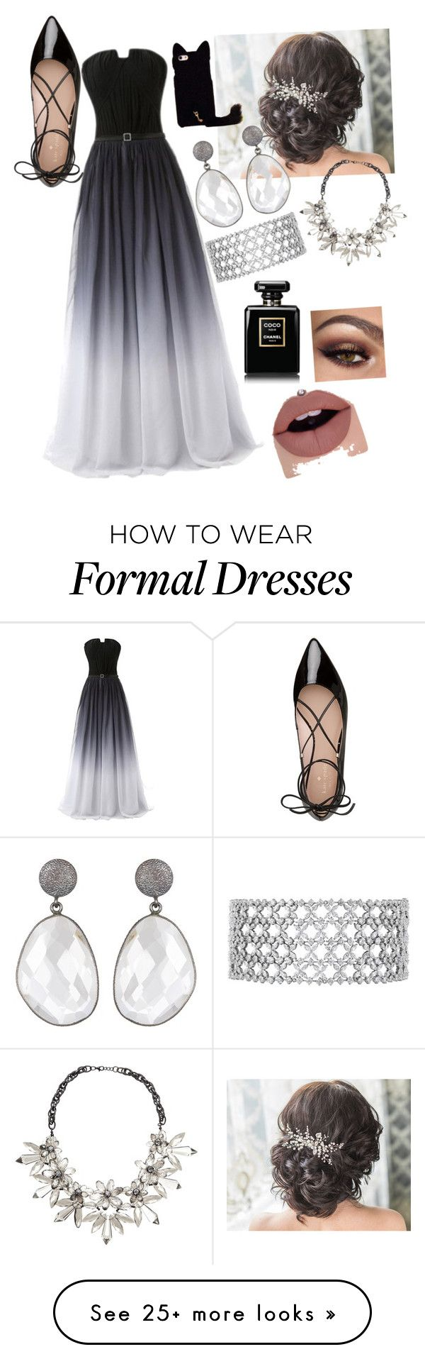 """bridesmaid"" by ivy-mary-clark on Polyvore featuring Kate Spade and John Lewis"