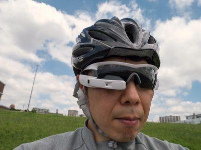 【地図ウォッチ】 「Recon JET」を試してみた――自転車乗りとランナーのためのサングラス型端末 - INTERNET Watch