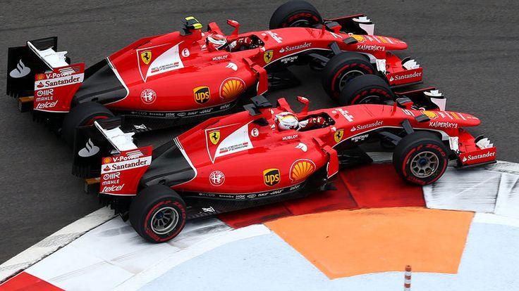 2015 Ferrari SF15-T (Sebastian Vettel & Kimi Räikkönen)