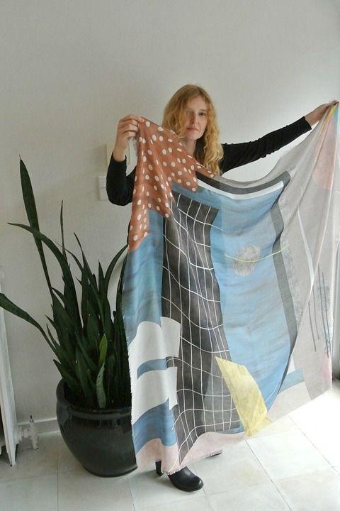 Fenetre Ombre scarf at Ewanika