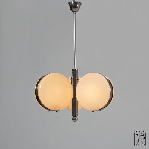 Beautiful German Art Deco ceiling lamp ZEITLOS u BERLIN