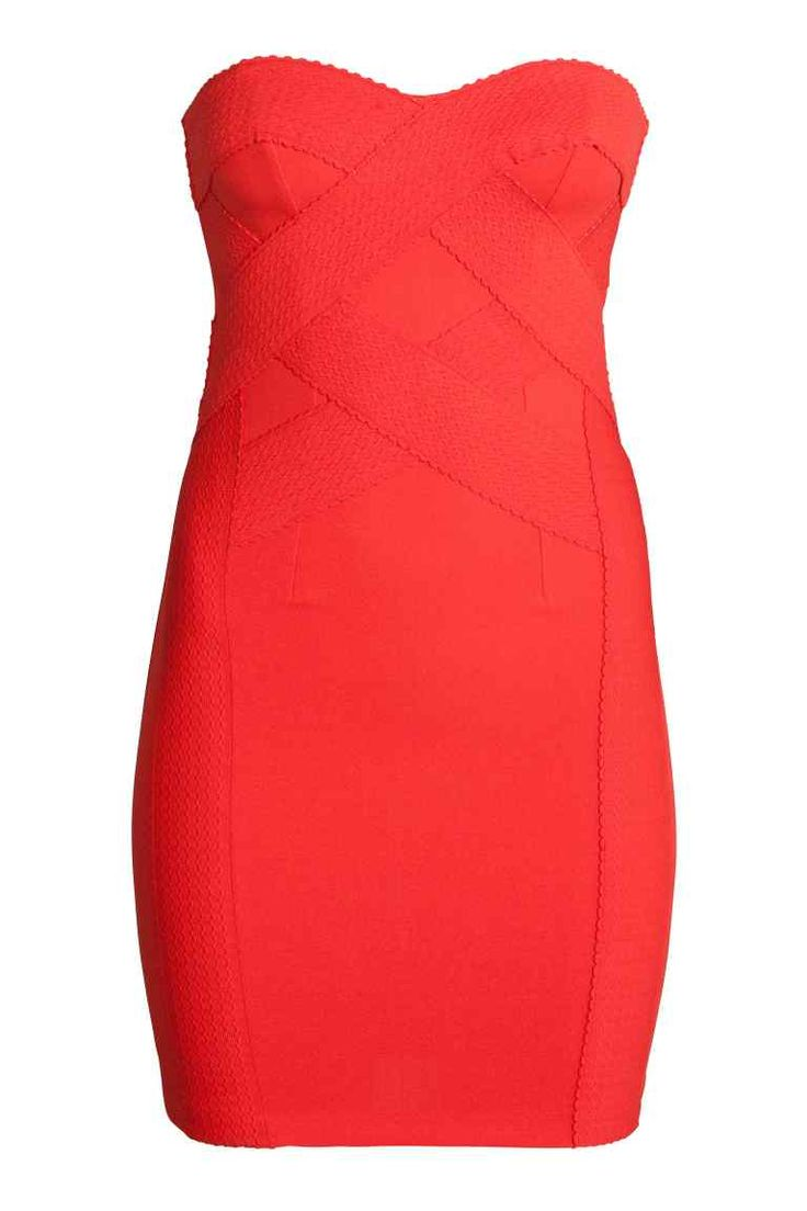 Vestido bandeau | H&M