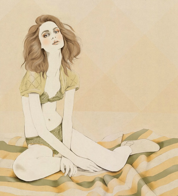 Kelly Thompson Fashion Illustration