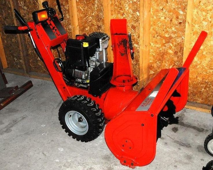 Snow blower Sold on MaxSold for $1250