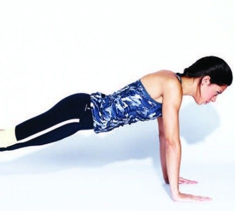 Master the push up in 4 steps!