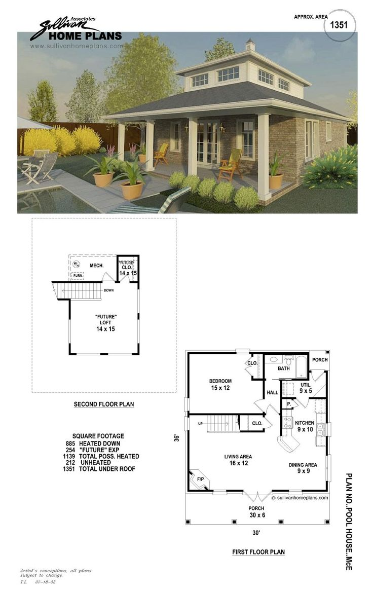 Nice Pool Cabana Plan Home Decor Pinterest Nice