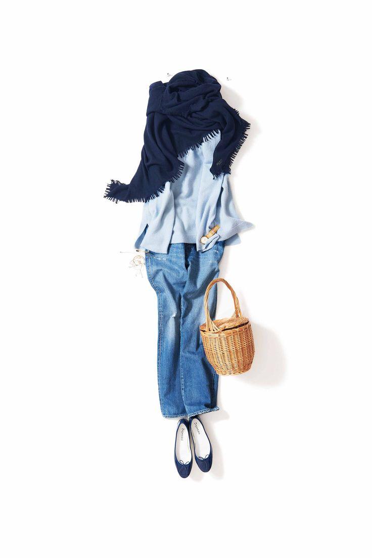 青空のエネルギーをもらう / コーディネート詳細 / Kyoko Kikuchi's Closet | 菊池京子のクローゼット [ K.K closet ]