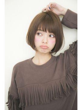 【GARDEN】宮崎えりな 大人可愛い小顔ショートボブ/GARDEN harajuku 【ガーデン ハラジュク】をご紹介。2016年春の最新ヘアスタイルを100万点以上掲載!ミディアム、ショート、ボブなど豊富な条件でヘアスタイル・髪型・アレンジをチェック。
