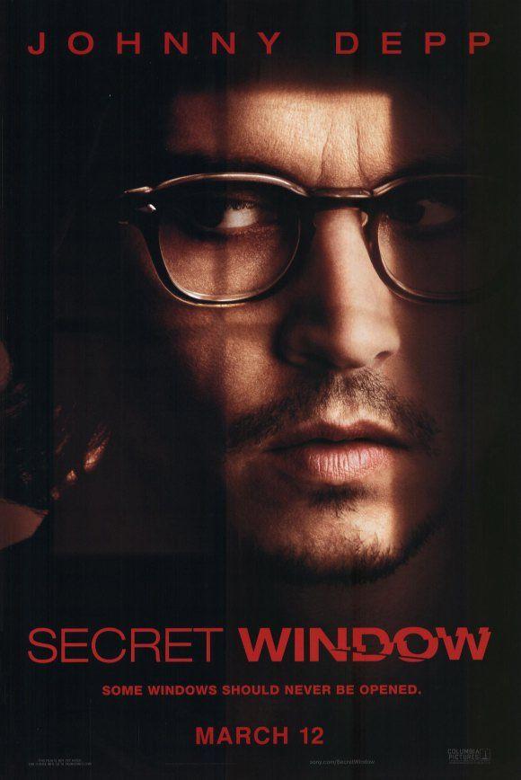 johnny depp movie posters johnny depp secret window movie