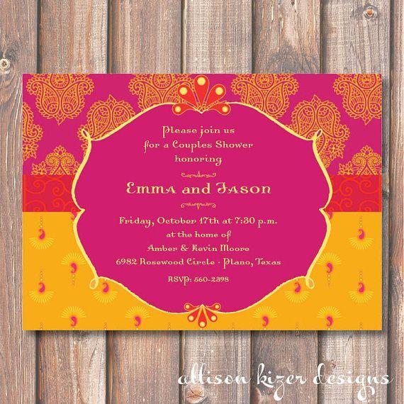 Invitation de douche pour le mariage par AllisonKizerDesigns, $16.50