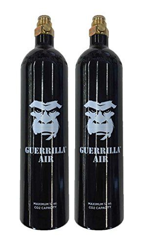 Lot of 2 - Guerrilla Air Co2 Aluminum Black Paintball Tank with Pin Valve 12oz  //Price: $ & FREE Shipping //     #sports #sport #active #fit #football #soccer #basketball #ball #gametime   #fun #game #games #crowd #fans #play #playing #player #field #green #grass #score   #goal #action #kick #throw #pass #win #winning