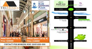Galaxy Blue Sapphire Plaza | Retail Shops | Premium Offices | Noida Extension