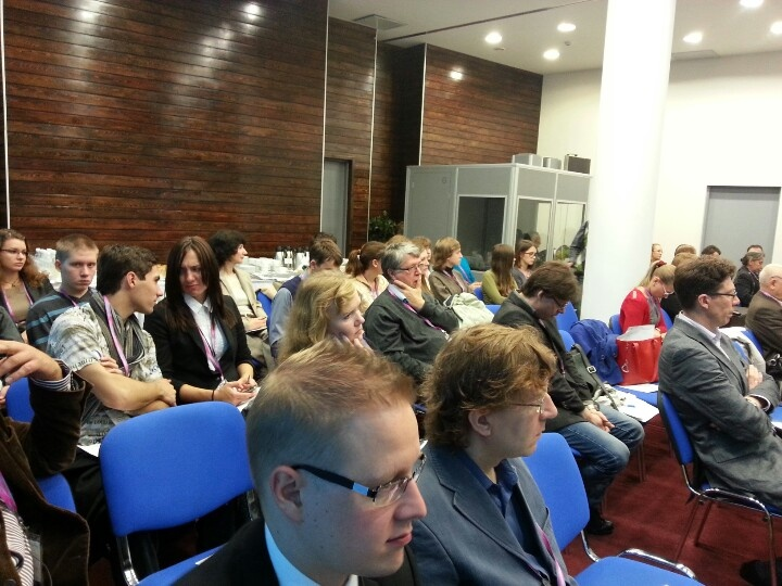 Conference St. Petersburg on 28.9.2012