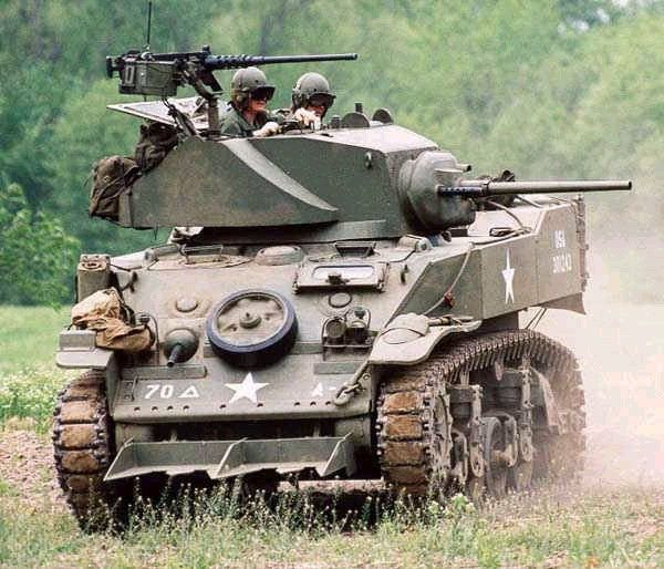 Stuart tank with hedgecutters designed for the Normandy Bocage country