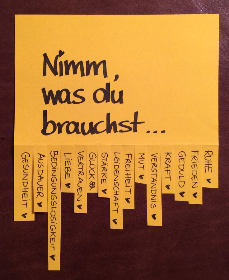 Nimm, was du brauchst... #abreisszettel #wünsche  Find me at Facebook!!!