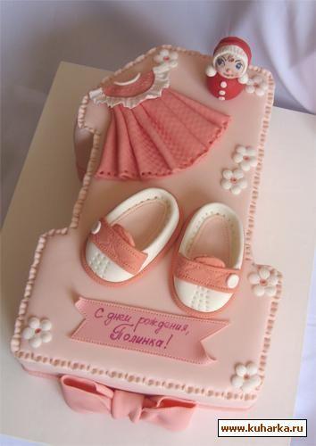 торт на годик девочке фото - Поиск в Google