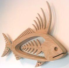 Mark Gottschalk's wood fish