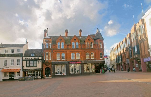 Ipswich Through Time - The Cornhill now