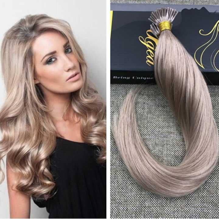 42 best ugeat human hair extensions show images on pinterest ugeat pre bonded keratin fusion hair extensions are made of real human hair pmusecretfo Gallery