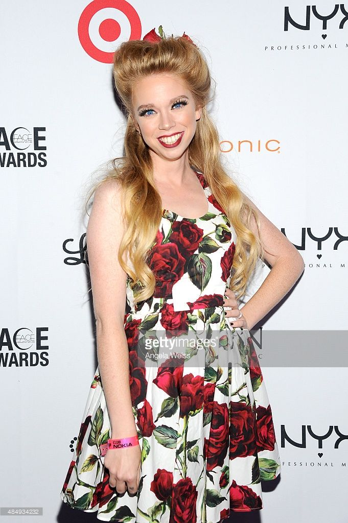 Judge Bunny Meyer aka Grav3yardgirl attends the 4th Annual NYX FACE Awards at Club Nokia on August 22, 2015 in Los Angeles, California.
