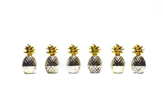 Pineapple Place Card Holders Pineapple Table by JudysJunktion
