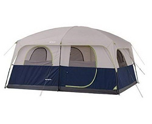 10 Person Tent 2 Rooms Instant Outdoor Family Trail Hunting Camping Cabin Wall. For product & price info go to:  https://all4hiking.com/products/10-person-tent-2-rooms-instant-outdoor-family-trail-hunting-camping-cabin-wall/