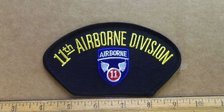 US Army - 11th Airborne Division Embroidered Patch