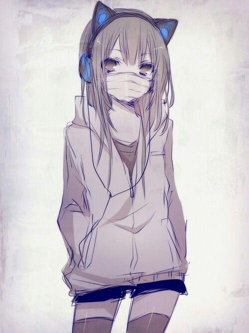 Les 680 meilleures images du tableau Neko Girl sur
